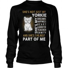 MY YORKSHIRE TERRIER IS THE BEST PART OF ME LONG SLEEVE TEES T-SHIRTS, HOODIES ( ==►►Click To Shopping Now) #my #yorkshire #terrier #is #the #best #part #of #me #long #sleeve #tees #Dogfashion #Dogs #Dog #SunfrogTshirts #Sunfrogshirts #shirts #tshirt #hoodie #sweatshirt #fashion #style