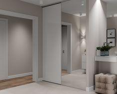 Home Design Decor, Interior Design Living Room, Living Room Designs, Living Room Decor, Bedroom Decor, House Design, Home Decor, Flur Design, Hall Design