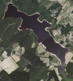 Lac de Saint Agnan – St Agnan – Grand lac public – La nièvre (58)