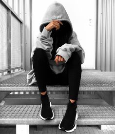 """2,394 Likes, 23 Comments - Outfitboy™ (@outfit_boy) on Instagram: """"For our 15% Girls . #Outfitboy @blvckd0pe Vetements Hoodie Balenciaga Speed runner Shoes"""""""