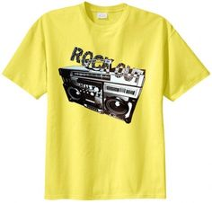 Big Mens Rock Out Graphic T-Shirt
