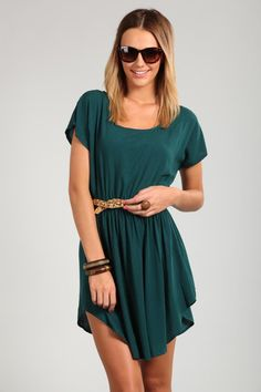 sammi drop shoulder dress. cotton on.