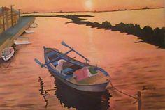 acrylic on canvas by John Davis original for sale