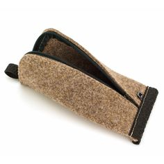 Brown stylish toiletry bag for men to store their toiletries. Made of wool felt and rubber. Blank and simple but very practical. Cosmetic Storage, Cosmetic Pouch, Zipper Bags, Zipper Pouch, Makeup Pouch, Makeup Bags, Anniversary Gifts For Him, Anniversary Ideas, Felt Pouch