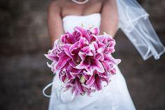 Lilien Brautstrauß