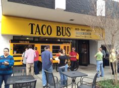 The Famous Taco Bus: Located 2 blocks from the Hyatt Regency Tampa. Featured on the TV show Man vs. Food.