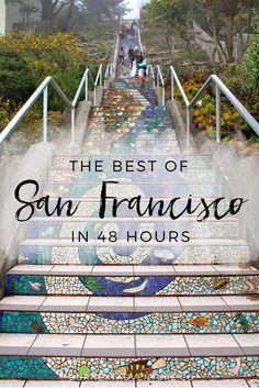 california travel The Best of San Francisco in 48 hours: the perfect 2 day itinerary for all the must-see sights! San Francisco With Kids, San Francisco Travel, San Francisco California, San Francisco Day Trip, San Francisco Must See, San Francisco Sights, Toddler Travel, Travel With Kids, Family Travel