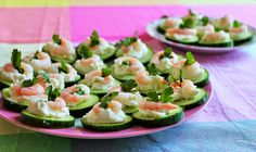 Delicious & Gluten Free: Gluten Free Cucumber Canapés & Other Nibbles
