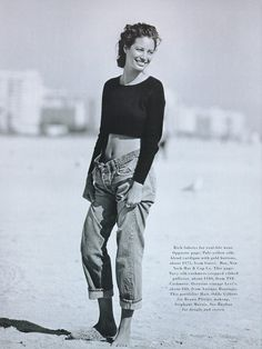 ☆ Christy Turlington | Photography by Peter Lindbergh | For Harper's Bazaar Magazine US | May 1993 ☆ #christyturlington #peterlindbergh #harpersbazaar #1993