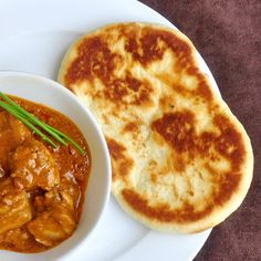 This is a basic plain naan recipe to which you can add other ingredients to make different versions. Some common additions are herbs, onions, garlic and even minced lamb or nuts and raisins.  Makes about 10 naan  1 envelope regular yeast1 cup lukewarm water1/4 cup + 1 teaspoon sugar3/4 cup milk1 beaten...Read More