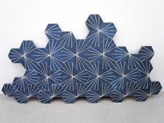 Swedish design and architecture studio Claesson Koivisto Rune has created beautiful reinterpretations of traditional Moroccan cement tiles for company Marrakech Design