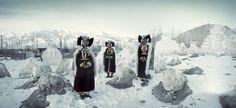 Before They Artprint VII 280, Perak Ladies, Thikse Monastery, Ladakh