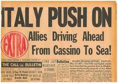 Battle of Monte Cassino and Rome MAY 12 1944 DI MAGGIO DIVORCE 2001207S B10