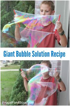 Pool Party Games For Girls Giant Bubbles 57 Trendy Ideas Giant Bubble Recipe, Giant Bubble Wands, Giant Bubbles, Giant Bubble Solution, Bubble Solution Recipe, Projects For Kids, Diy For Kids, Crafts For Kids, Summer Activities