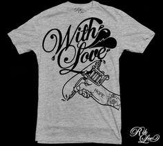 AU$28.00 WANT this Rik Lee tee! #Tattoos #TattooFlash #Flash