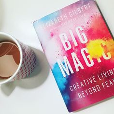 Read this in December and STILL thinking about this awesome book and it's lessons:  1. Everyone is creative. 2. You must work at cultivating your creativity each day, even when you're not feeling inspired. 3. Inspiration has it's own life outside of you, and if you don't act on it, it will move on eventually.  #bigmagic #bestbooksof2015 @elizabeth_gilbert_writer