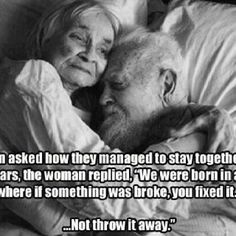 Growing Old Together...  Visit us: www.createasocialbuzz.com/the-buzz-about-us/  Source: www.facebook.com/FFL.fightforlife