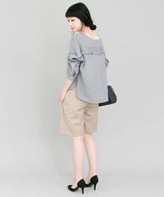 0eb42a2181  セール KBF+ 前後2wayフリルブラウス(Tシャツ カットソー)|KBF(ケイビーエフ)のファッション通販 - ZOZOTOWN