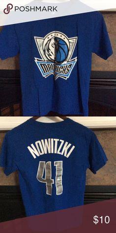 🎉SALE🎉Mavericks Tee Nowitzki - Dallas Mavericks - worn once - perfect condition - as new - youth size medium - fits like a regular women's small 😌👍 Shirts & Tops Tees - Short Sleeve
