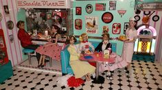 Collecting Fashion Dolls by Terri Gold: The Best Halloween Diorama EVER!