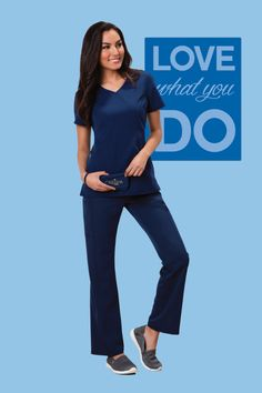 Careisma by Sofia Vergara - I love these scrubs so much, they show off all my curves. So cute and stylish!