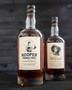 Kooper Family Rye Whiskey Rye Whiskey, Whisky, Rye Grain, Bourbon Barrel, Sweet Pastries, French Vanilla, Cinnamon Rolls, Raisin, Whiskey Bottle