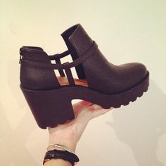 Kate with the #ShoeCult Consequence Boot || Get the boots: http://www.nastygal.com/sale/shoe-cult-consequence-boot--black?utm_source=pinterest&utm_medium=smm&utm_term=ngdib&utm_content=the_cult&utm_campaign=pinterest_nastygal