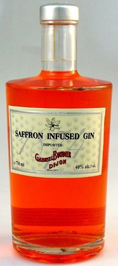 gabriel boudier saffron infused gin - so, like, of your didn't know what to get me for Christmas or birthday...