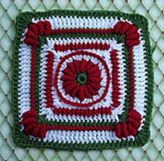 "This block makes use of multiple textures and surface stitches to achieve a lovely addition to any sampler afghan or blanket. May easily be adapted to 9"" - 12"". Working Invisible Joins and Air Crochet will immensely improve the appearance. Rated Intermediate to Advanced work."