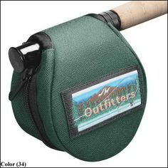 Medium Clamshell Reel Case By Jw Outfitters