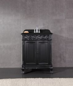 It's all about the fine details with the Craven Vanity from Ove Home Depot Bathroom, Vanity, Home Appliances, French, Contemporary, Wood, Ideas, Home Decor, Dressing Tables