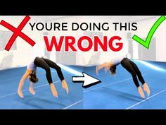 5 Common Back Handspring Mistakes and How to Fix Them! Gymnastics Gear, Gymnastics Lessons, All About Gymnastics, Gymnastics Coaching, Gymnastics Training, Volleyball Pictures, Cheer Pictures, Softball Pics, Cheer Stunts