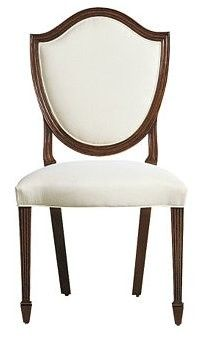 Shield Back Side Chair - Safavieh Home Furnishings - SKU: 1932 - from Baker Furniture