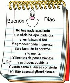 Con una linda actitud Sonreír ☺️ Siempre 👍🏿 Good Morning Good Night, Day For Night, Good Morning Quotes, Good Afternoon, Good Day, Morning Thoughts, Happy Birthday Pictures, Morning Greeting, Love Messages