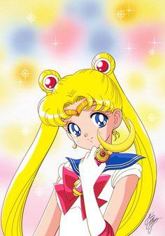 Sailor Moon Girls, Sailor Moom, Arte Sailor Moon, Sailor Moon Usagi, Sailor Scouts, Anime Chibi, Kawaii Anime, Sailor Moon Screencaps, Sailor Moon Wallpaper