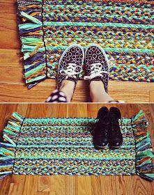DIY Braided Rug