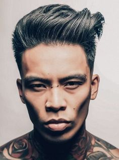 Looking for the best & trendy medium length hairstyles and haircuts for men? Believe me, you're gonna love these hairstyles & haircuts for Quiff Hairstyles, Asian Men Hairstyle, Asian Hair, Medium Hairstyles, Male Beauty, Haircuts For Men, Short Hair Styles, Hair Makeup, Hair Cuts