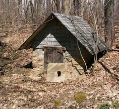 springhouse | got online and found some photos of spring houses.