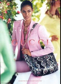 The latest Gucci Photoshop disaster has appeared in its Explore the digital flagship campaign and has managed to make one of the model's legs appear half the size of the other