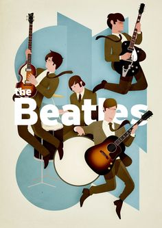The Beatles on Behance
