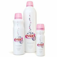 Evian Brumisateur Spray  in 1.7oz because a 12 hour flight can mummify you.