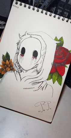 Creepy Drawings, Dark Art Drawings, Creepy Art, Pencil Art Drawings, Art Drawings Sketches, Cute Drawings, Anime Sketch, Art Sketchbook, Art Inspo