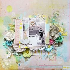 Where's YOUR Free Spirit? Free Spirit layout by Erin Blegen! #papercrafting #scrapbooking