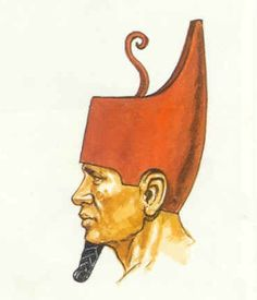 Deshret - The Red Crown of Lower Egypt - Egyptian Symbols and Meanings