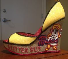 The Hubig's Pie Shoe from my 2013 collection (Confessions of a glitter addict: 2013 Shoes - The Complete Set)
