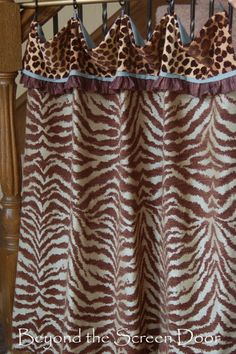 Aqua & Brown, Animal Prints & Floral for Master Bed & Bath | Beyond the Screen Door