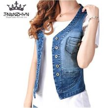 {Like and Share if you want this  TNLNZHYN 2017 Spring Summer Womens Denim Vest  Sleeveless Jeans Vest Jacket Casual Ladies Waistcoat Jacket Plus Size 4xl Y167|    Unique arrival TNLNZHYN 2017 Spring Summer Womens Denim Vest  Sleeveless Jeans Vest Jacket Casual Ladies Waistcoat Jacket Plus Size 4xl Y167 now on sale $US $40.98 with free delivery  you can purchase this specific piece as well as even more at our favorite eshop      Find it right now the following…