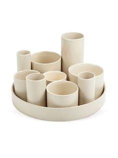 Ten Ceramic Vessels by HomArt on Gilt Home