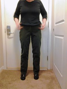 Fittest Loser writer Annie Overboe was thrilled to find a previously too-small pair of pants now fit.