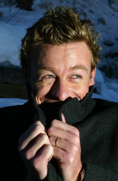 """Simon Baker: """"HEHEHE. I get to keep an insane number of people still on edge if I'll EVER get Red John."""""""